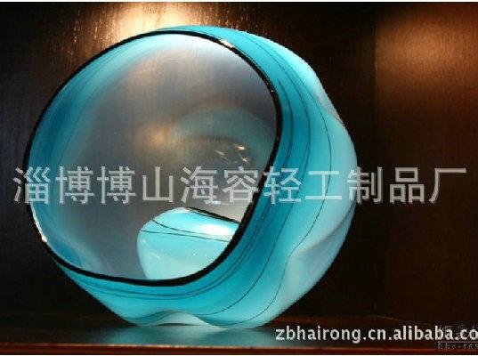 湖南吹制玻璃艺术品